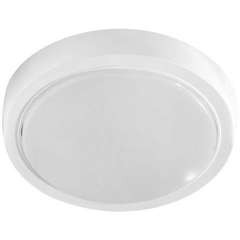 Plafón Led redondo interior blanco 10W 820Lm 6000K° 210x35mm. IP20 (Spectrum SLI031014CW)