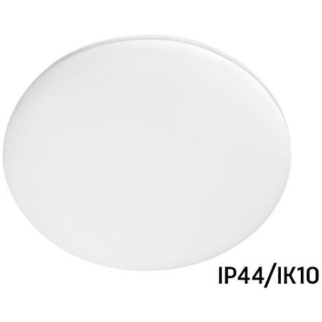 Plafón Led redondo IP44/IK10 resistente a humedad y polvo 18W 4000°K (Spectrum SLI031020NW)