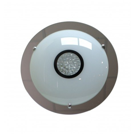 PLAFON LED REDONDO SERENA Color Cromo