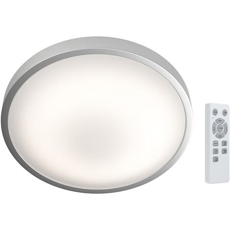 Plafón Led redondo Silara regulable con mando a distancia 16W 85x310mm. (Osram 4058075032972)