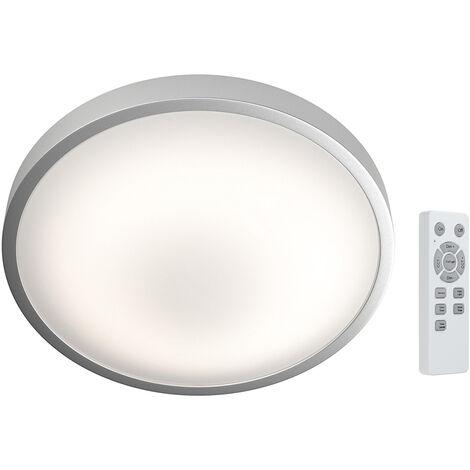 Plafón Led redondo Silara regulable con mando a distancia 21W 88x410mm. (Osram 4058075259836)
