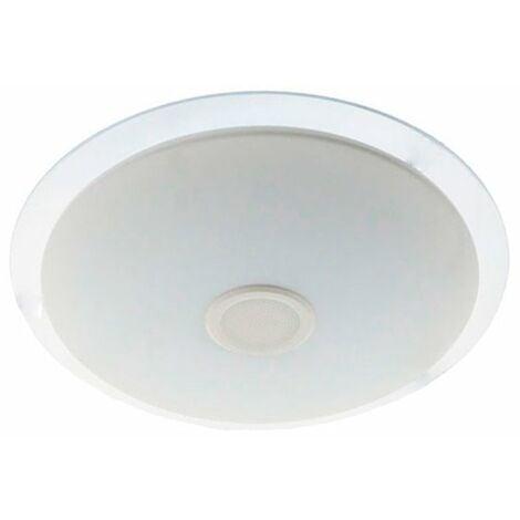 Plafón LED regulable con altavoz bluetooth 50cm 36W
