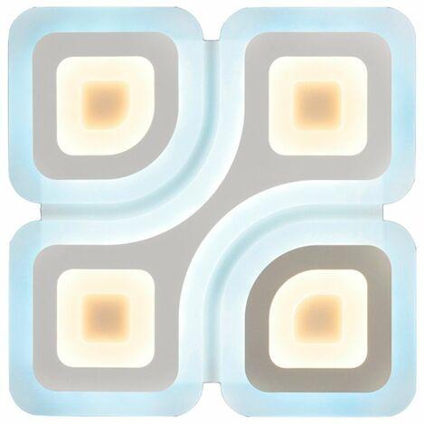 Plafón LED regulable con mando 50cm 130W Manolo