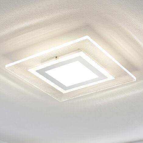 Plafón LED Ridon, cuadrado