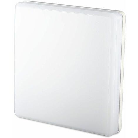 Plafón LED Slim cuadrado 25W 110° 6400K Blanco frío -Chip Samsumg 2500 lumens