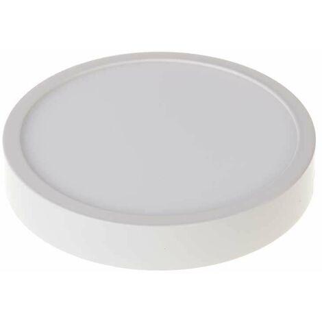 Plafón LED superficie circular 18W 120°