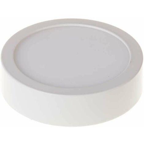 Plafón LED superficie circular 6W 120°