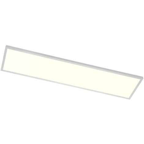 Plafón LED Tinus alargado, RGB y blanco cálido