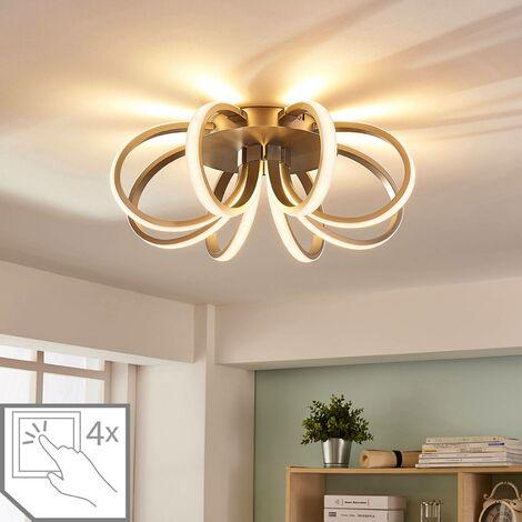 Plafón LED Vada con forma de flor