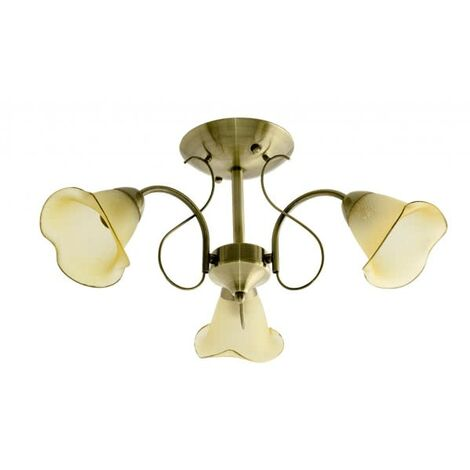 Plafón Marsella (3 luces)