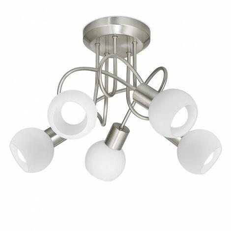 Plafón Opal (5 luces)