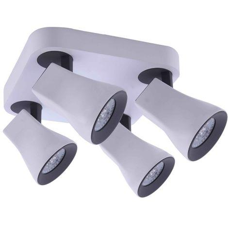 Plafón Orientable Aspe (4xGU10)