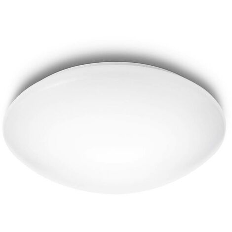 "Plafón ""Suede"" 20 W 6500º blanco"