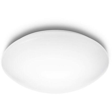 "Plafón ""Suede"" 9,6 W 6500º blanco"