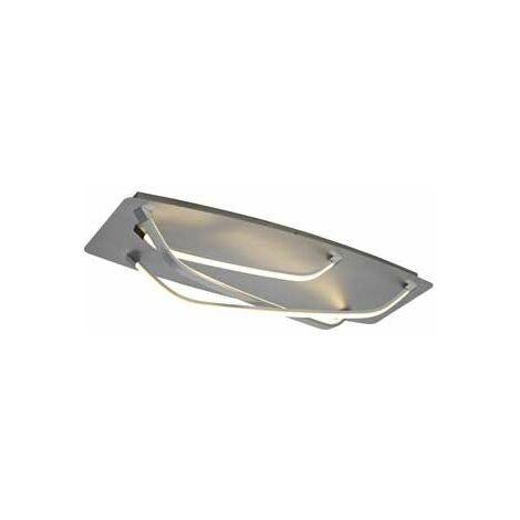 Plafón superficie metal cromo moderno
