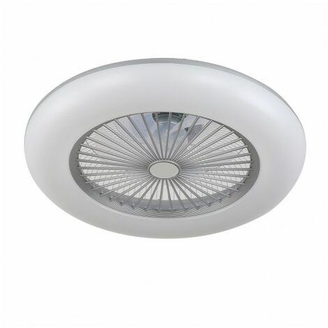 Plafon ventilador NEW de led dimable acabado blanco, venta online.