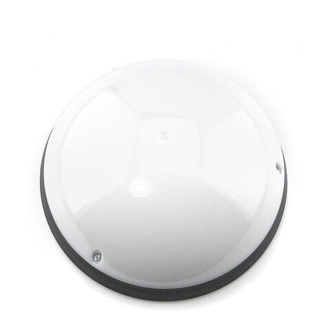 Plafóncon sensor IP54 Clase II antivandálico Negro LED luz fría