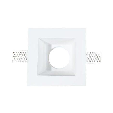 Plafond Carré Plâtre pour allocation Spot LED GU10 120x120mm - 3649