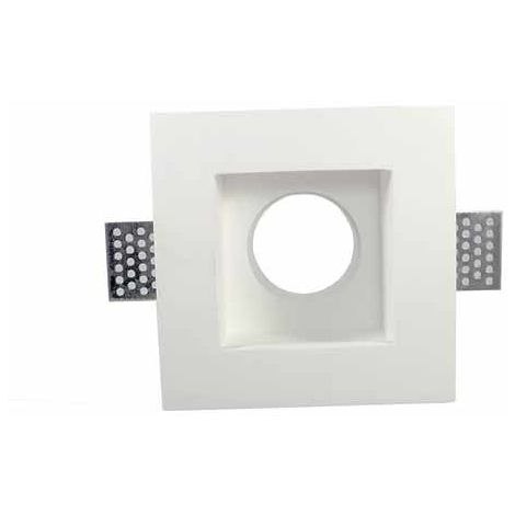 Plafond plâtre Carré GU10-GU5.3 pour allocation Spot LED - G06 Mod. C-KTG06