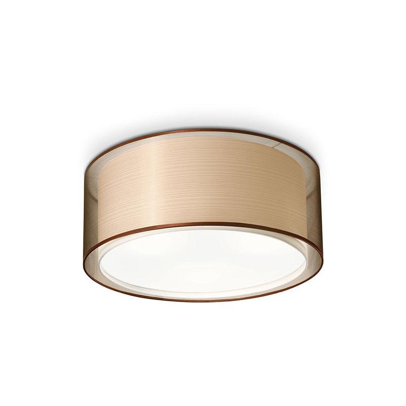 Plafoniera Tessuto Design : Plafoniera 77 cm con paralume in tessuto perenz 5973
