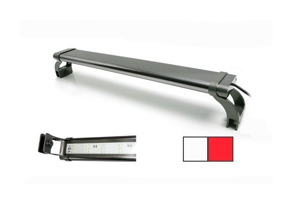 Plafoniera Led Acquario Marino 120 Cm : Plafoniera a lampade led ultra slim ad alta intensita in varie