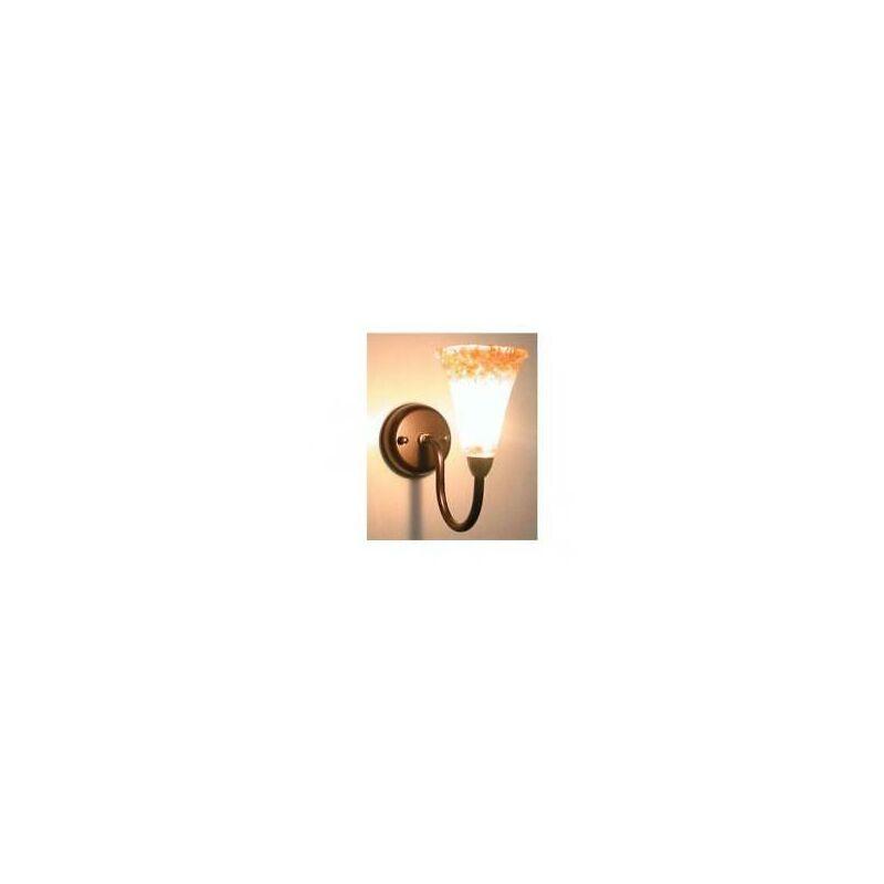 Plafoniera applique lanterna sogno a 1 luce in ferro battuto lampione applique - CRUCCOLINI