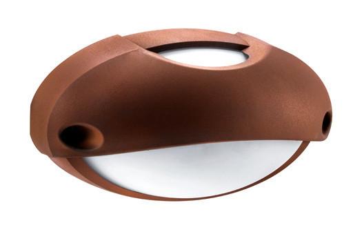 Plafoniera Da Esterno Lombardo : Plafoniera applique lombardo airy top ovale rame e w ip