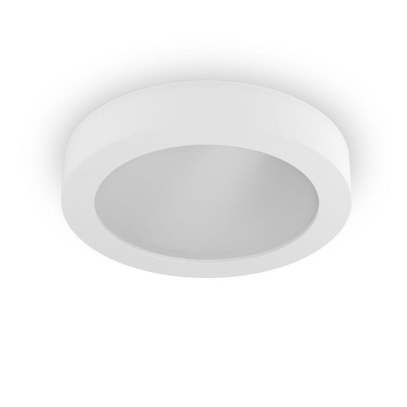 Plafoniere Con Lampadina A Vista : Plafoniera bf 8881 14w led 40cm gesso bianco verniciabile lampada