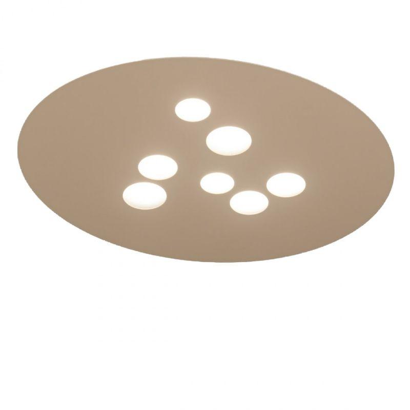 Lampadario Bianco Opaco : Plafoniera ge luna pg gx led alluminio bianco opaco