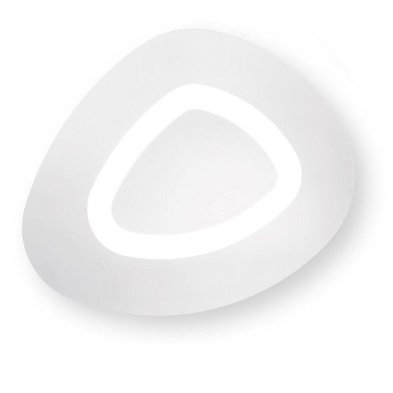G.e.a.luce - Plafoniera gea luce manila pg 45w led 3750lm 3000°k 220v dimmerabile lampada soffitto parete moderna alluminio interno - G.E.A. LUCE