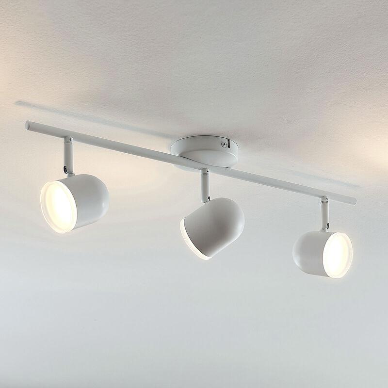 Plafoniera Ilka, regolabile, bianco, 3 luci - LINDBY