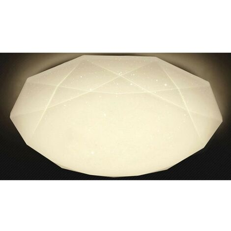 Plafoniera LED a cupola DIAMOND con superficie sfaccettata