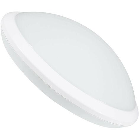 Plafoniera LED con Sensore di Movimento Radar 20W Bianco Naturale 4000K - 4500K