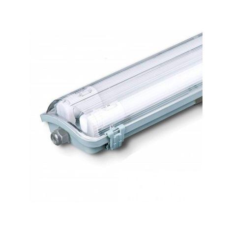 Plafoniera LED Doppia Impermeabile 44W 150cm IP65