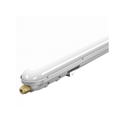 Plafoniera LED Impermeabile 36W 120cm con Kit di Emergenza e Modalità SA/SE IP65