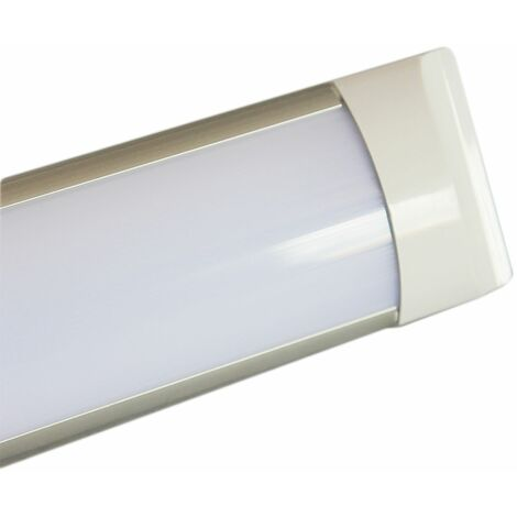 Plafoniera led lampada slim banco frigorifero alimentari 120 cm 40w 2400k