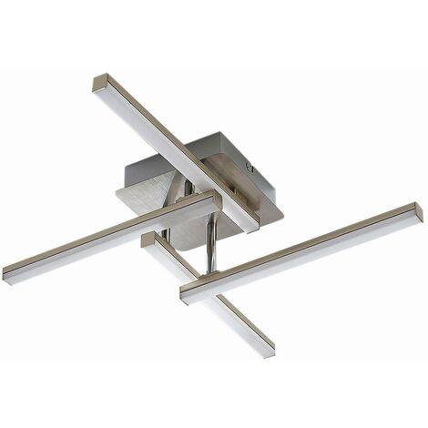Plafoniera LED Laurenzia a 4 luci, dimmer