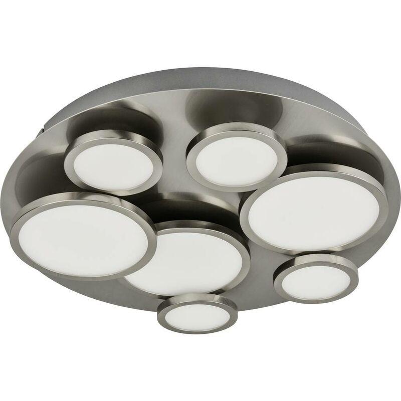 Plafoniera LED LightMe LM NIKKI 7-fl. rd. LM85609 GU10 Potenza: 42 W Bianco caldo