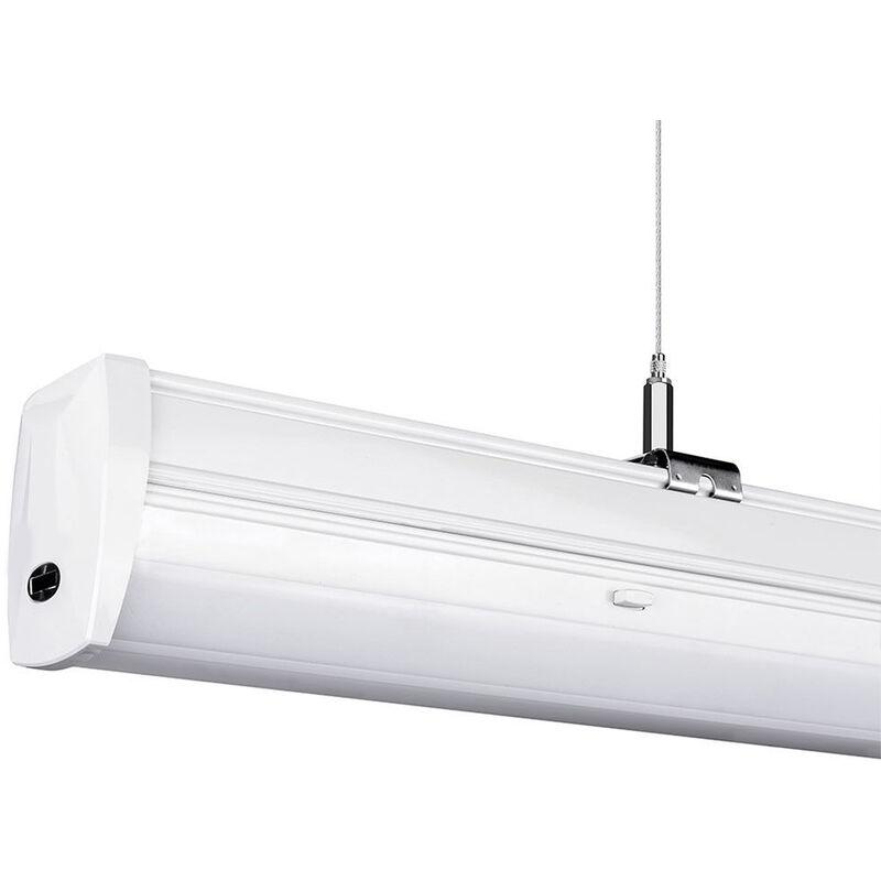 V-tac - LEDLUX CB81361N Plafoniera LED Lineare A Sospensione Master 50W 150cm Lente Opale 120 Gradi 4000K IP20 Dimmerabile SKU-1361