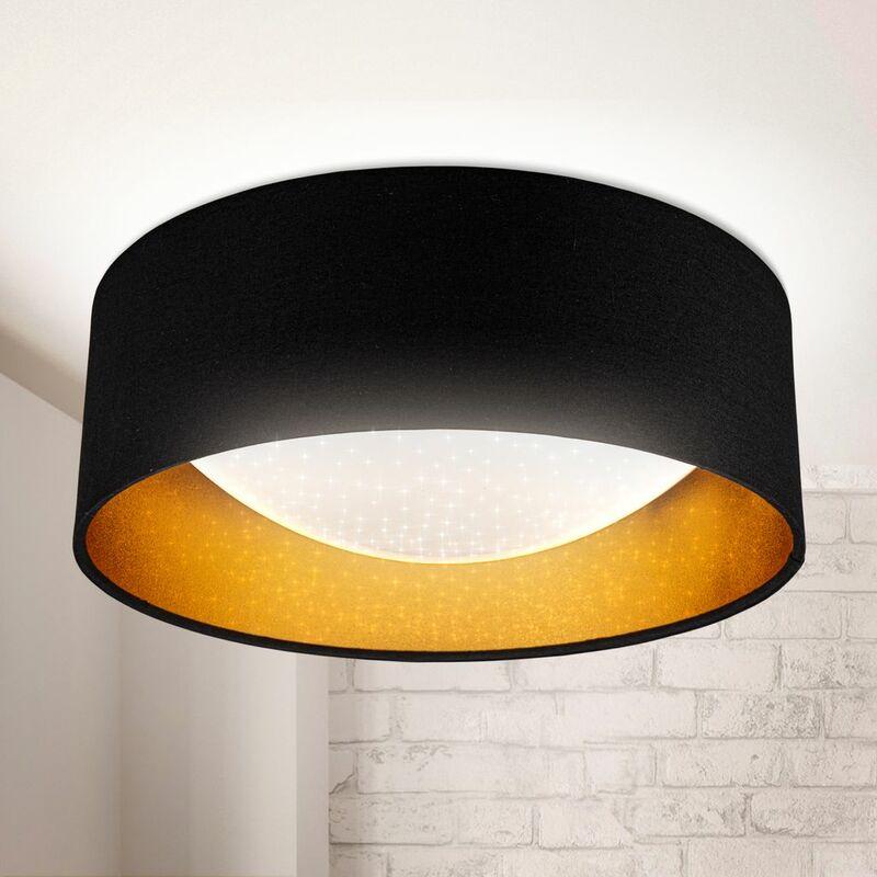 EDISLIVE Plafoniera LED IP44 lampada da soffitto o parete per bagno Interno Lampada a Soffitto Per Camera da letto,Cucina,Corridoio,Ufficio,Bagno luce bianca naturale 6000K LED integrati 18W /Ø22cm