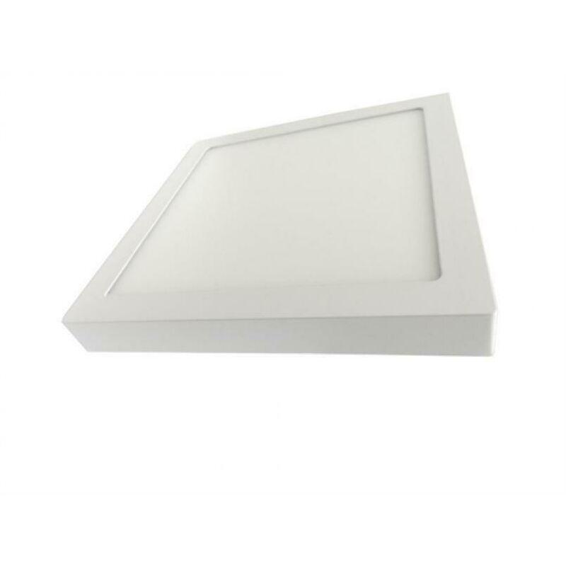 Plafoniera led quadrata 24w da soffitto, parete con rifinitura bianca 30x30cm 4200k