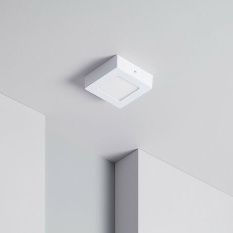 Plafoniera LED Quadrata 6W