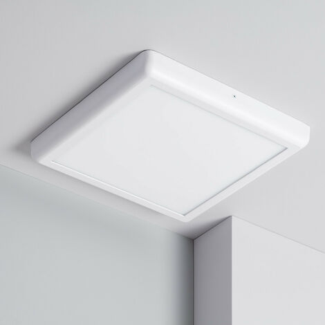 Plafoniera LED Quadrata Design 24W Bianca