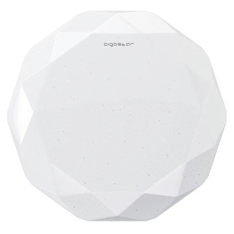 Plafoniera Led Rotonda Diamante da 24W Bianco Freddo 6500K