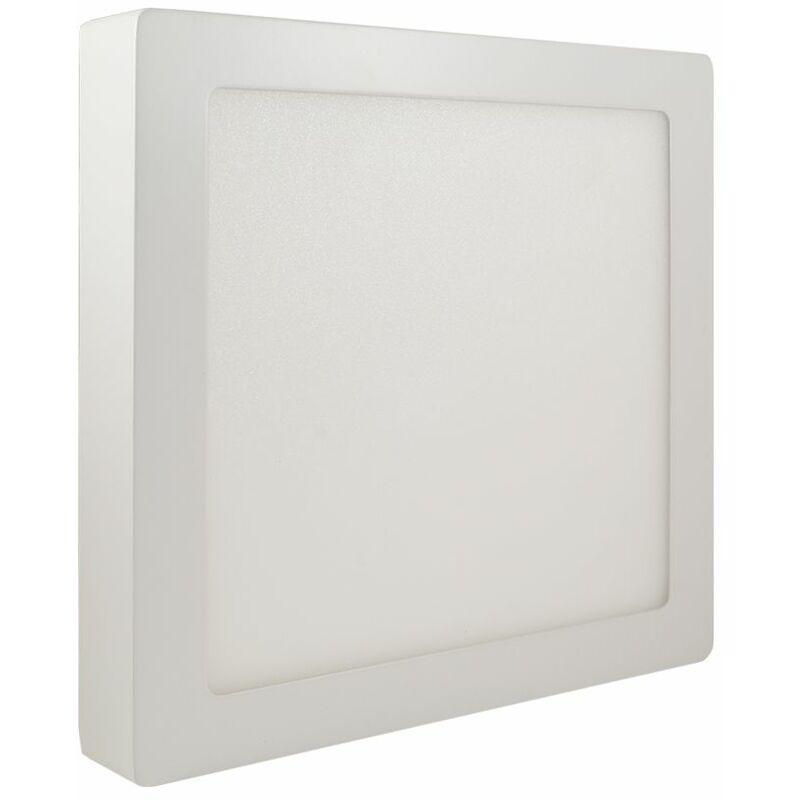FORMA Quadrato POTENZA 18 Watt Luce Bianco Naturale PLAFONIERA PANNELLO SOFFITTO DA PARETE LED APPLIQUE 18W 24W FUTURA DR
