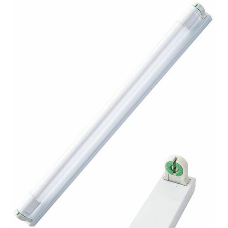 Plus adapté PLAFONIERA NEON LED 60 CM CENTIMETRI T8 ATTACCO REGLETTE SUPPORTO KI-02