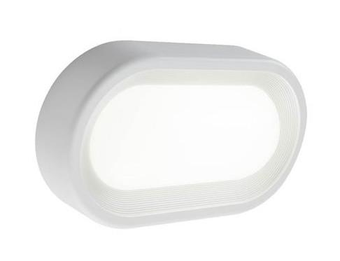 Plafoniere Esterno Led : Plafoniera ovale piccola esterno w led luce naturale bianca sovil
