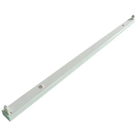 Plafoniera per 1 Tubo led neon T8 da 120cm modello 2