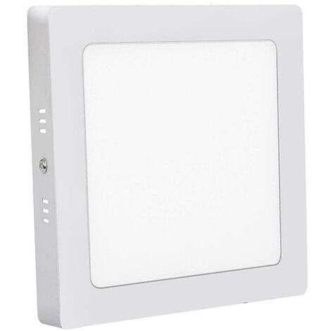 Plafoniera soffitto led 25w quadrato luce fredda lampada applique futura dr