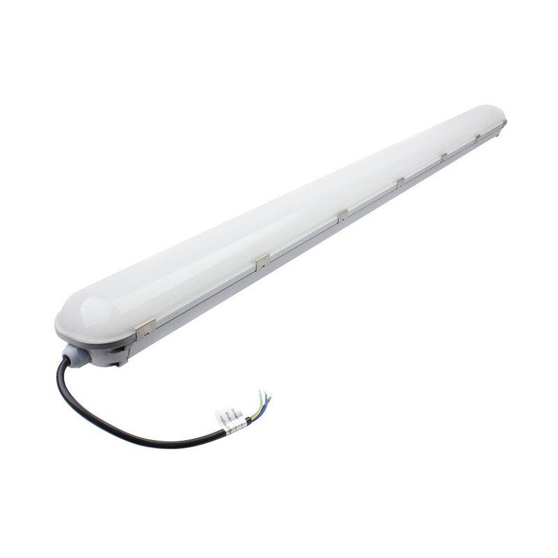 Plafoniere Con Led Integrato : Plafoniera stagna led integrato alluminio 1200mm 40w